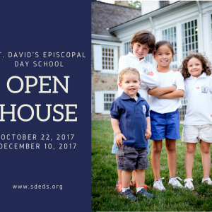 Open Houses this Fall