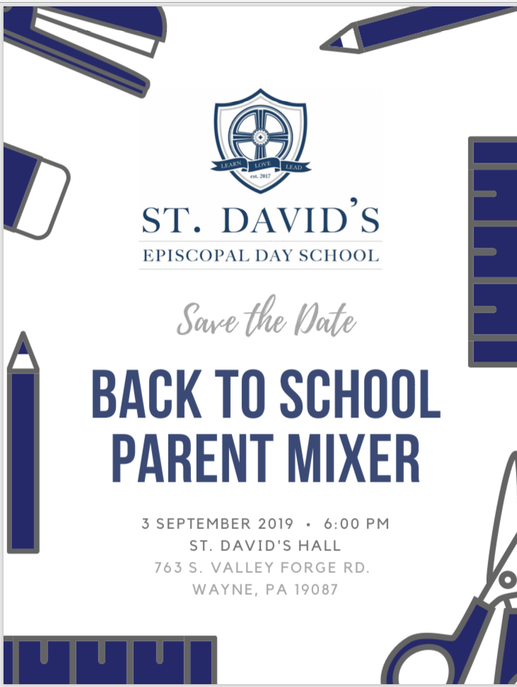 SDEDS Back-to-School Parent Mixer